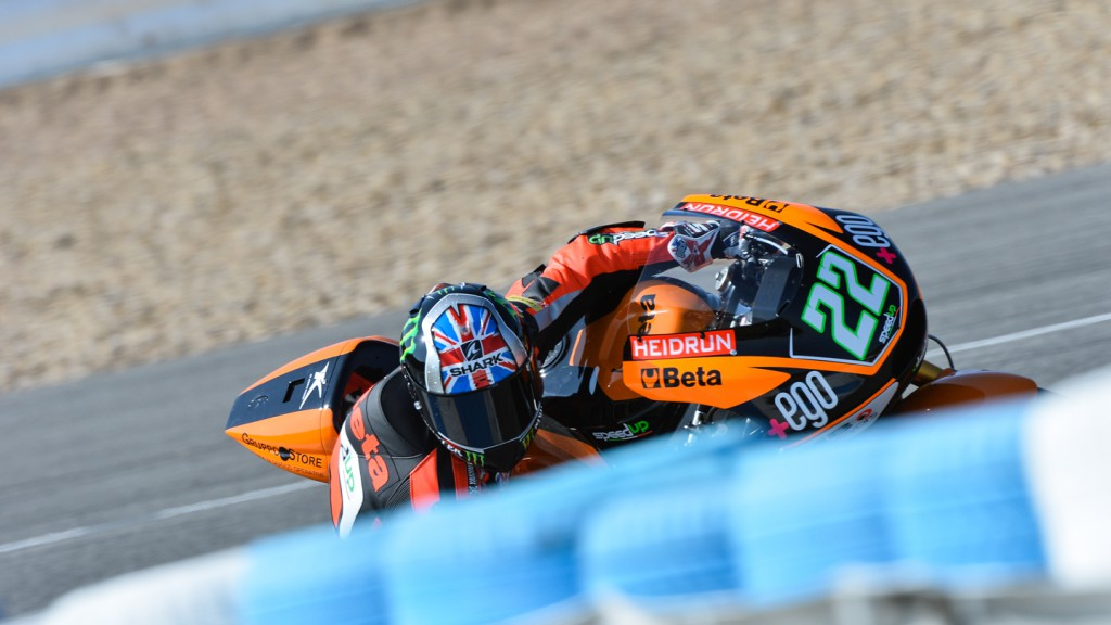 Sam Lowes, Speed Up, Jerez Test