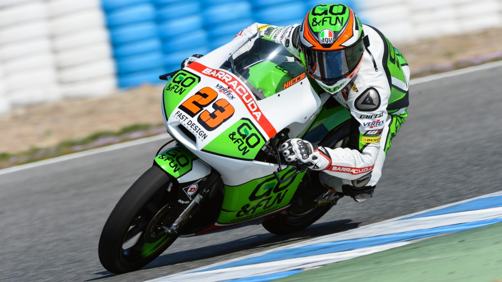 Niccolo Antonelli, Junior Team GO&FUN Moto3, Jerez Test