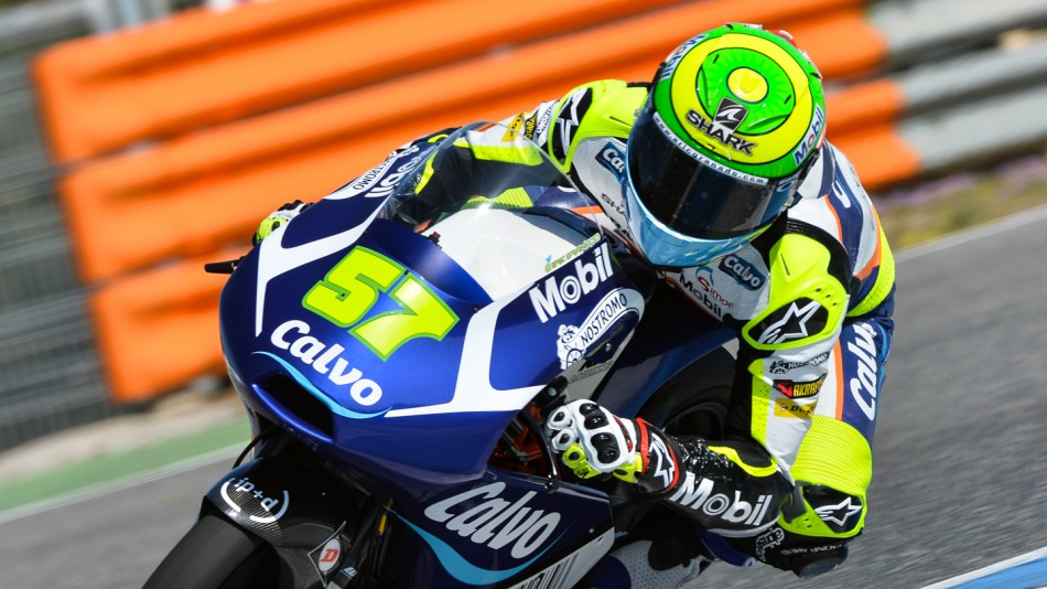 motogp.com · Eric Granado, Calvo Team, Jerez Test