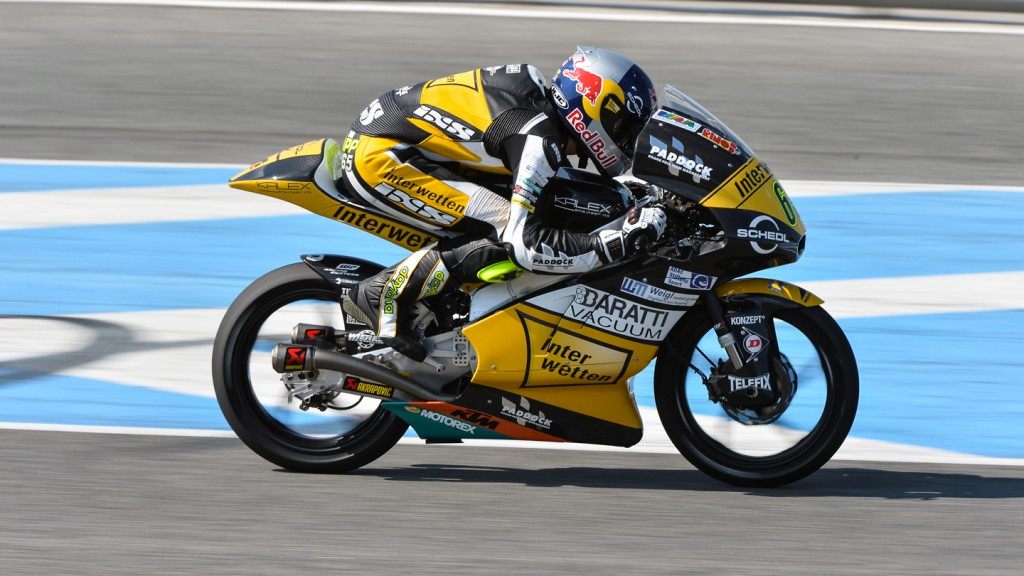 Phillipp Oettl, Interwetten Paddock Moto3, Jerez Test