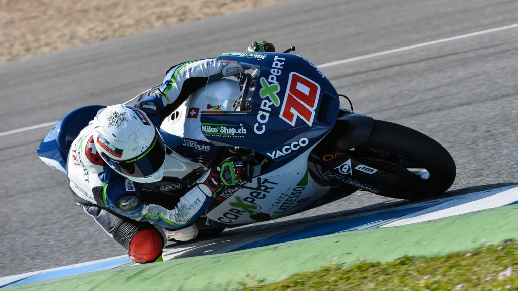Robin Mulhauser, Technomag carExpert, Jerez Test