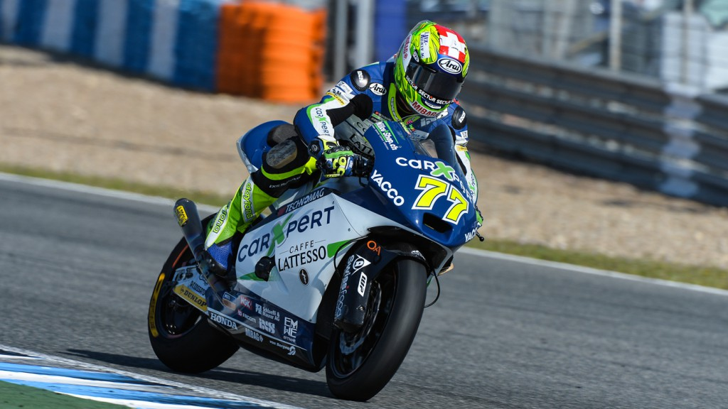 Dominique Aegerter, Technomag carExpert, Jerez Test