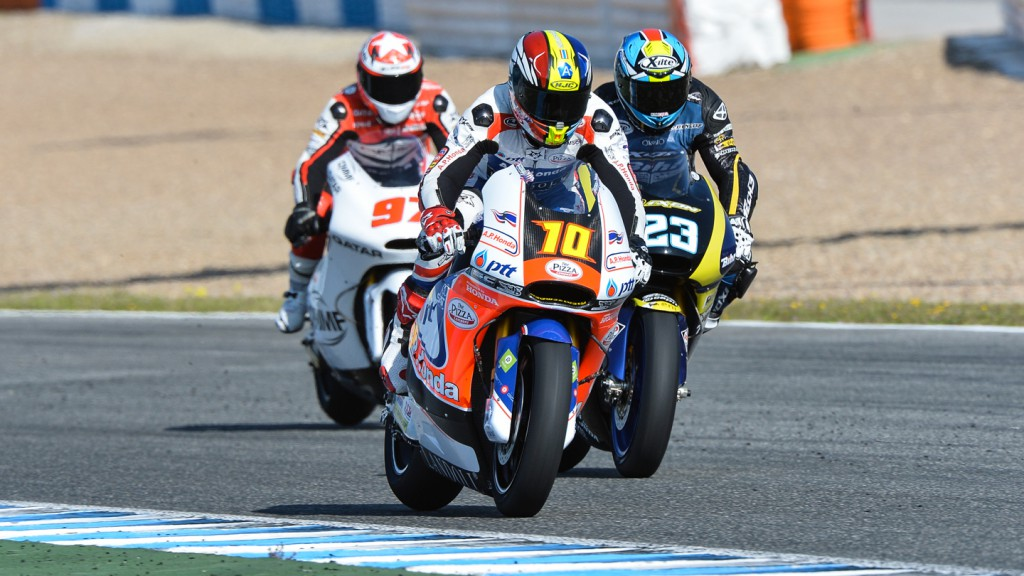 Moto2, Jerez Test