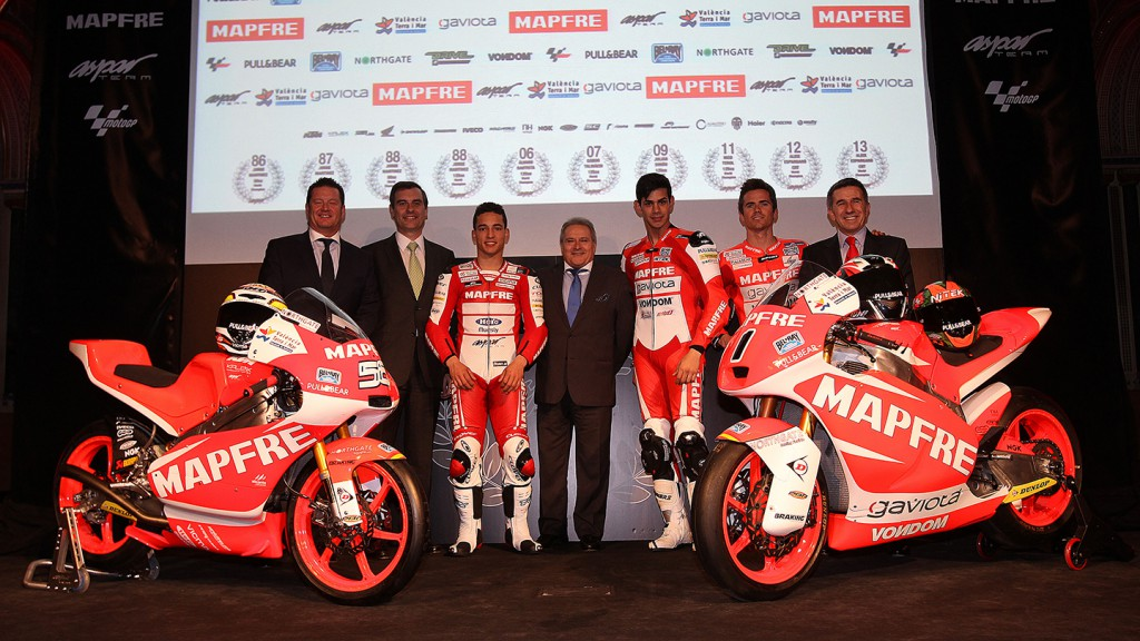 Mapfre Aspar Team Moto2 & Moto3 Presentation