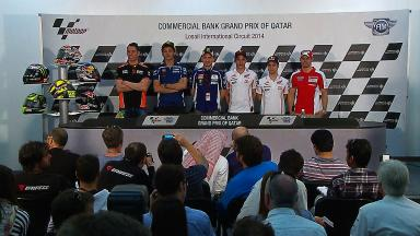What They're Saying: Thursday's press conference at Losail