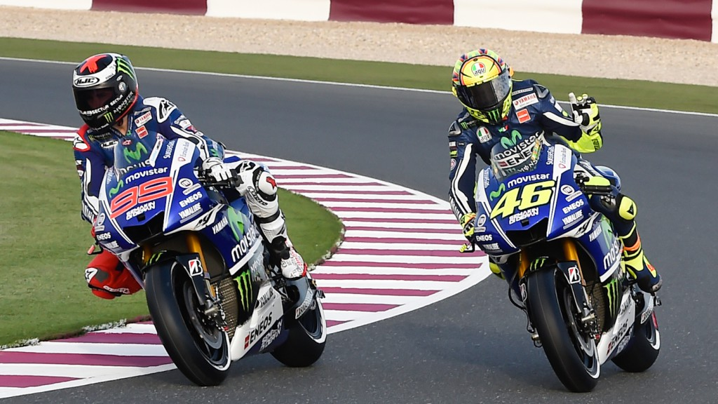 Rossi, Lorenzo, Movistar Yamaha MotoGP, Losail Circuit © Milagro