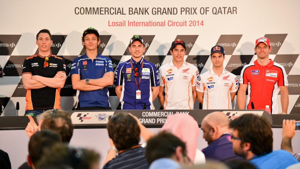 Commercial Bank Grand Prix of Qatar Press Conference