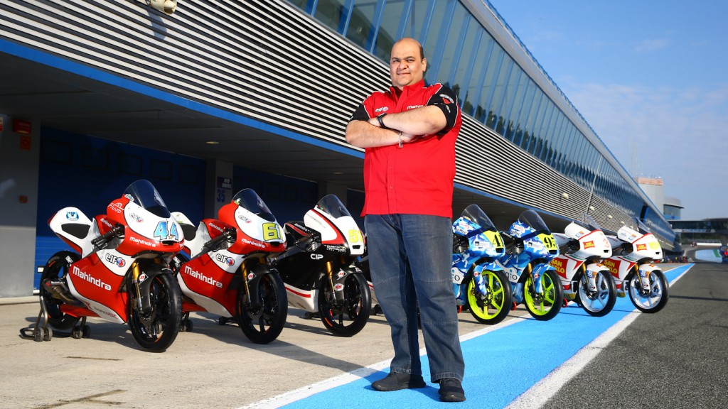 Mahindra Racing CEO Mufaddal Choonia
