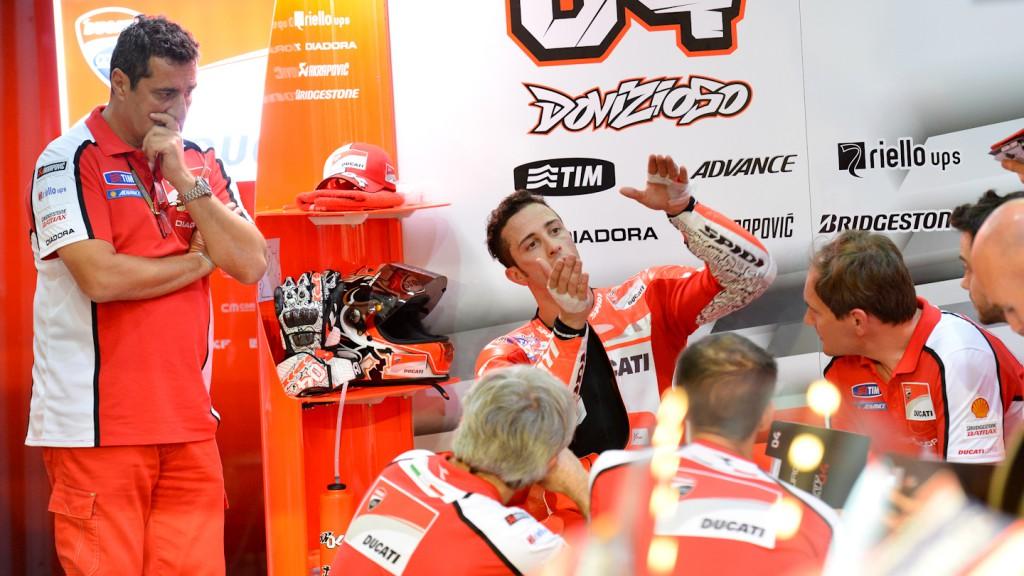 Andrea Dovizioso, Ducati Team, QAT FP1
