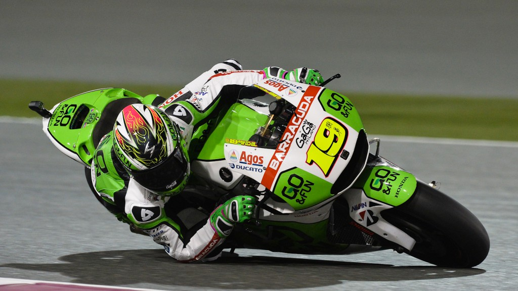Alvaro Bautista, GO&FUN Honda GResini, QAT FP1