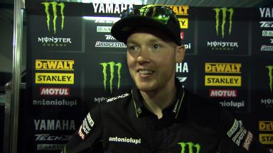 Smith: 'Rear tyre temperatures the biggest issue'