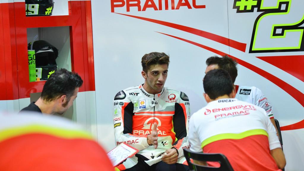 Andrea Iannone, Pramac Racing, QAT FP1