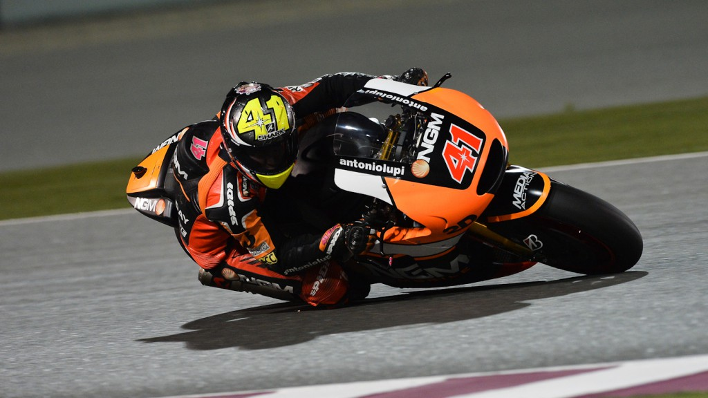 Aleix Espargaro, NGM Forward Racing, QAT FP1