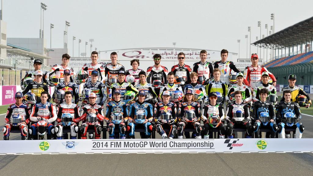 2014 Moto3 Line Up
