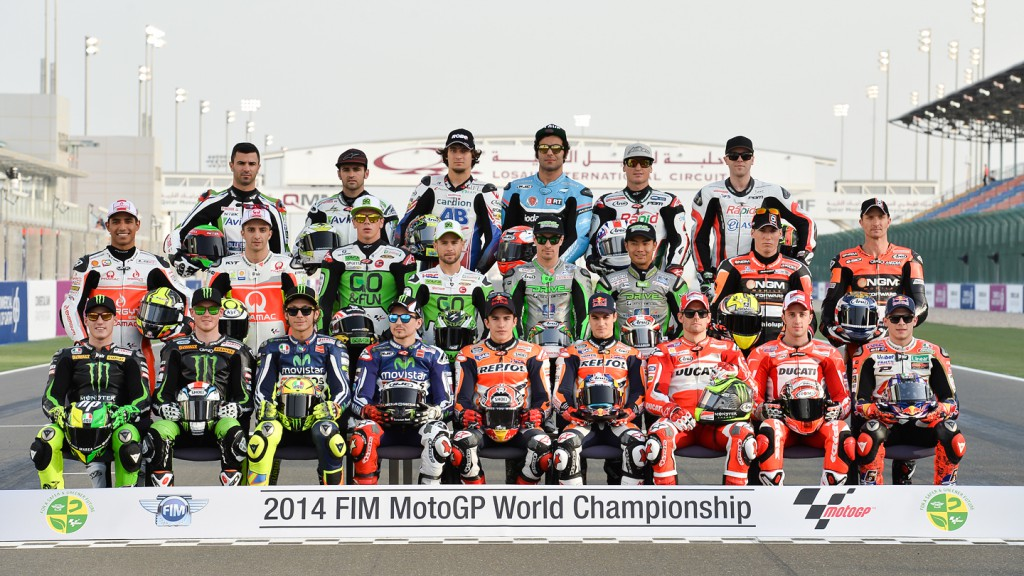 2014 MotoGP Line Up