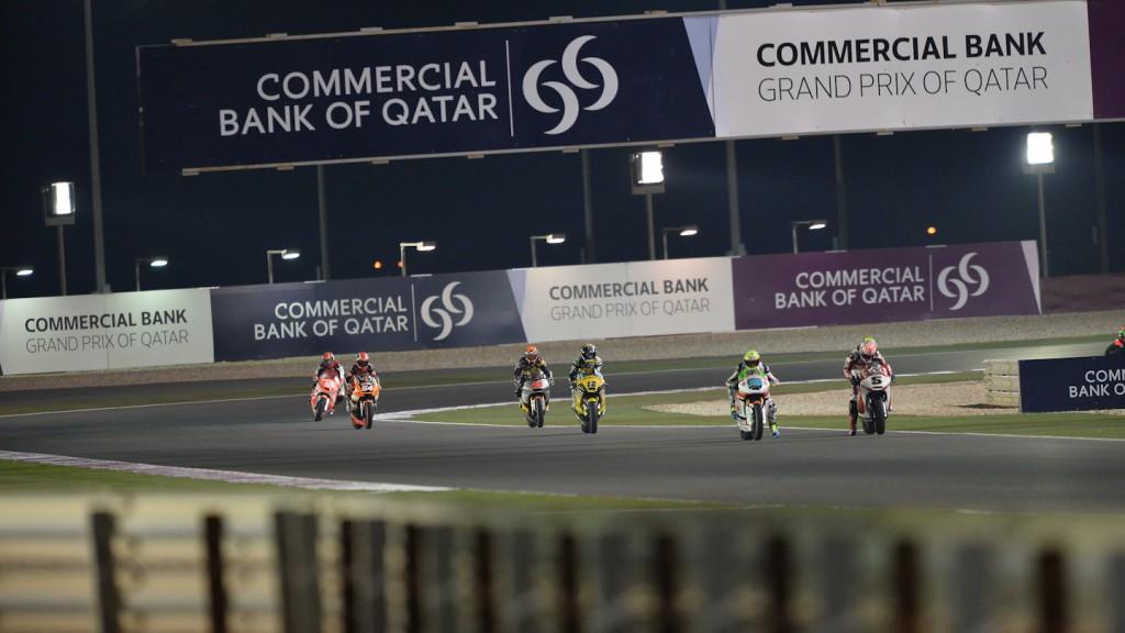 Moto2 Action, QAT FP1