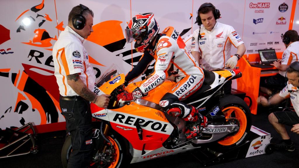 Dani Pedrosa, Repsol Honda Team, QAT FP2