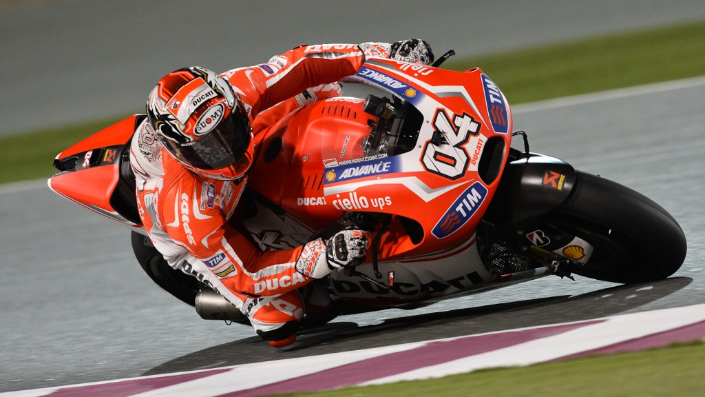 Andrea Dovizioso, Ducati Team, QAT FP2