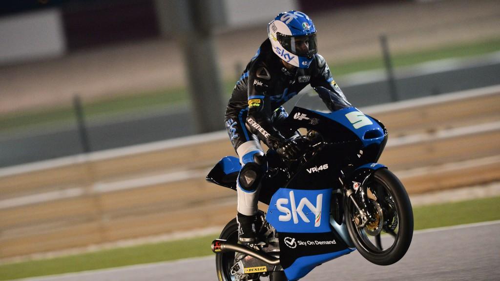 Romano Fenati, SKY Racing Team VR46, QAT FP3