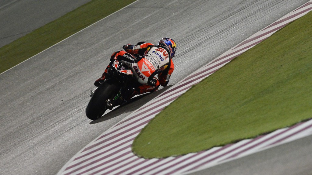 Stefan Bradl, LCR Honda MotoGP, QAT FP3