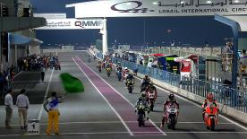 Sandro Cortese (Dynavolt Intact GP) was the man on the pace in FP3 for Moto2™ at the Commercial Bank Grand Prix of Qatar, leading Dominique Aegerter (Technomag carXpert) and Esteve Rabat (Marc VDS Racing Team).