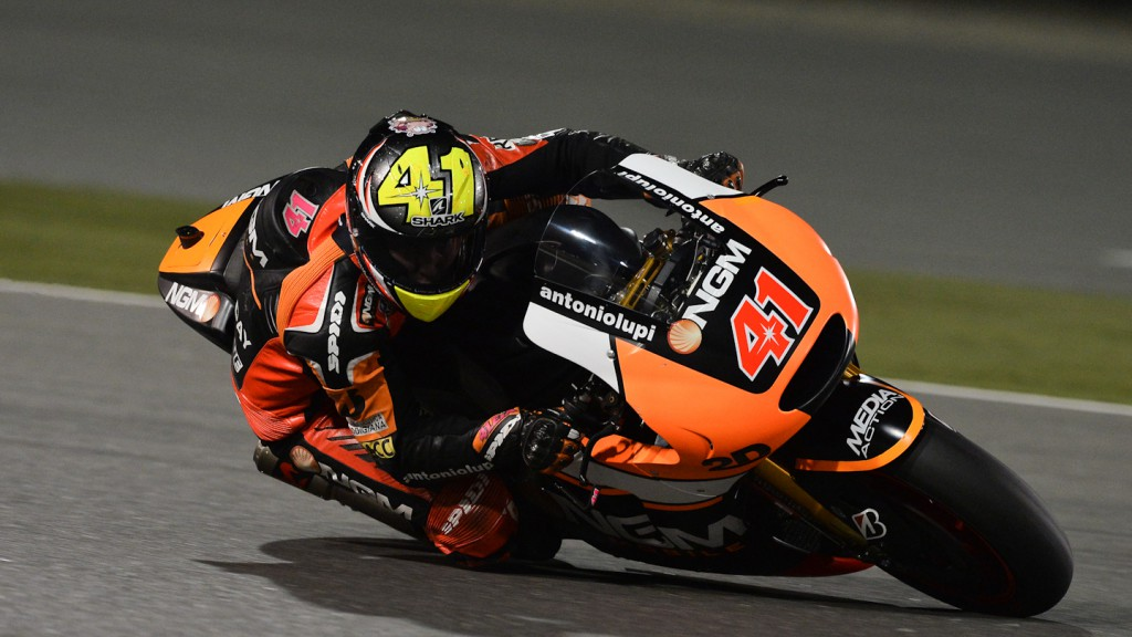 Aleix Espargaro, NGM Forward Racing, QAT FP2