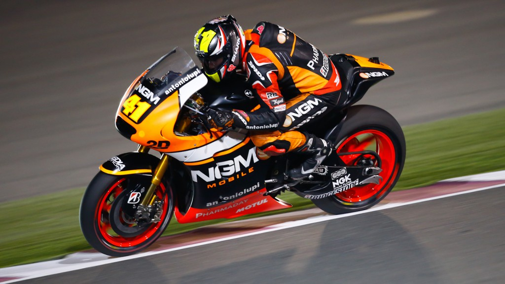 Aleix Espargaro, NGM Forward Racing, QAT FP3