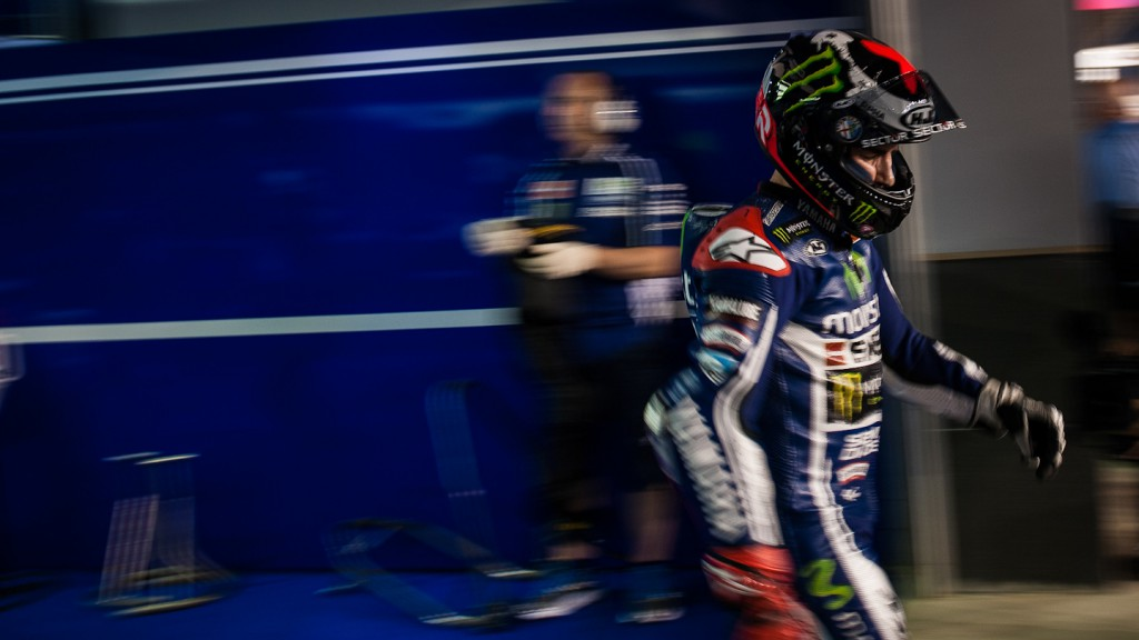 Jorge Lorenzo, Movistar Yamaha MotoGP, QAT FP3 - © Copyright Scott Jones, PHOTO.GP