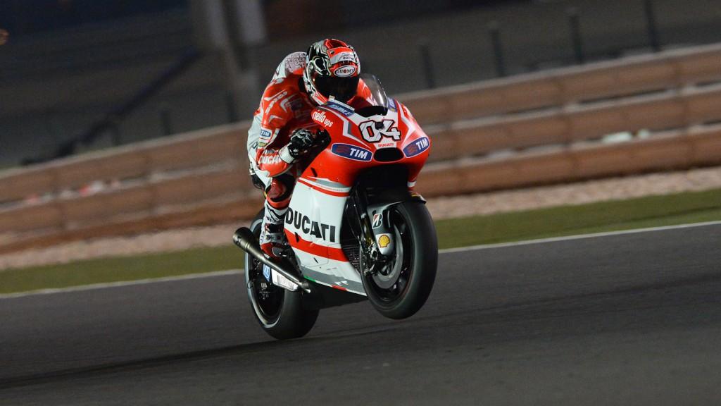 Andrea Dovizioso, Ducati Team, QAT Q2