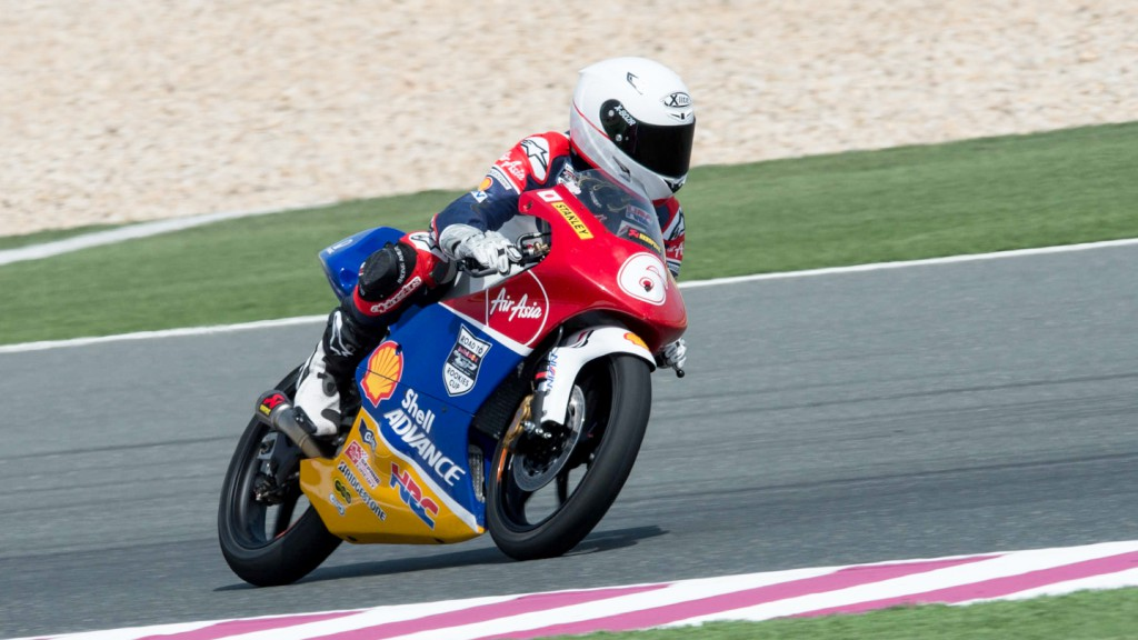 Yuta Date, Shell Advance Asian Talent Cup, QAT QP