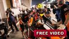 Las fatigas y tensiones del pit lane Qatar