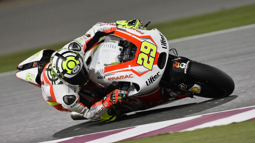 Andrea Iannone, Pramac Racing, QAR Q2