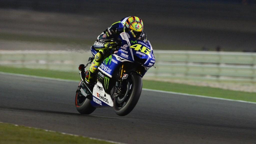 Valentino Rossi, Movistar Yamaha MotoGP, QAT Q2