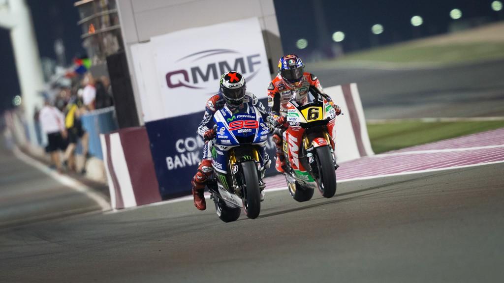 Lorenzo, Bradl, Movistar Yamaha MotoGP, LCR Honda MotoGP, QAT