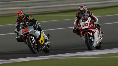 Qatar 2014 - Moto2 - RACE - Action - Winning - Overtake