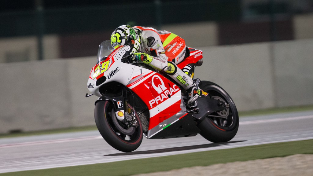 Andrea Iannone, Pramac Racing, QAT WUP