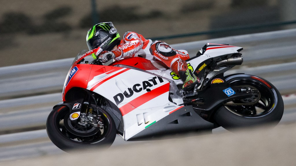 Cal Crutchlow, Ducati Team, QAT RAC
