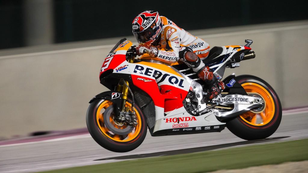 Marc Marquez, Repsol Honda Team, QAT RAC
