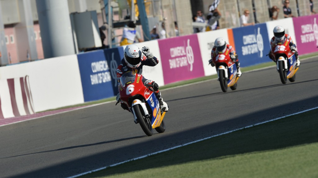 Yuta Date, Shell Advance Talent Cup, QAT QP