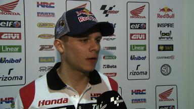 Bradl left puzzled by crash out of lead
