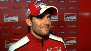Crutchlow on race-long transponder problem