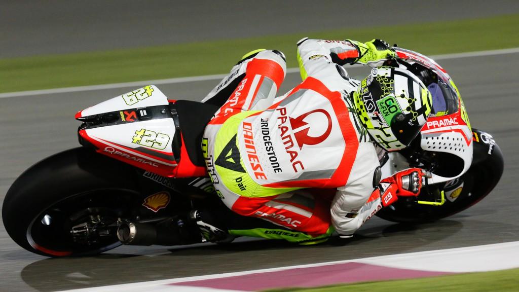 Andrea Iannone, Pramac Racing, QAT RAC