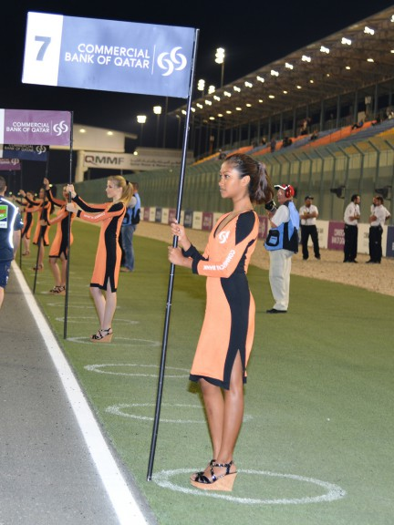 Paddock Girl, Commercial Bank Grand Prix of Qatar