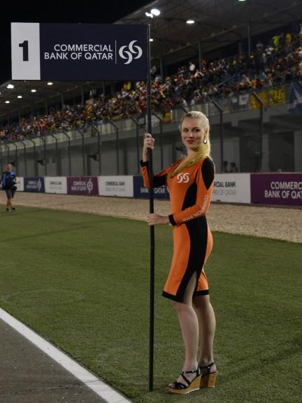 Paddock Girl, Commercial Bank Grand Prix of Qatar