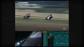 Despite a difficult first lap for pole man Esteve Rabat (Marc VDS Racing Team) he produced an otherwise excellent ride in Qatar to win on the last corner.