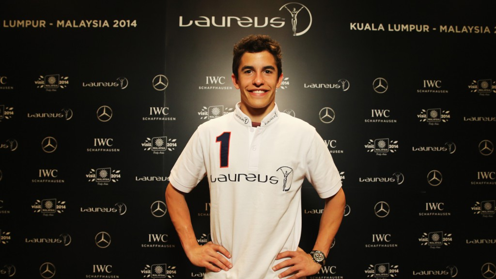 Marc Marquez, Breakthrough of the year, Laureus World Sport Malaysia 2014