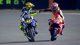 Enjoy all the best moments from the 2014 Qatar GP.