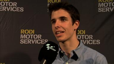 Alex Marquez on progress with new Honda