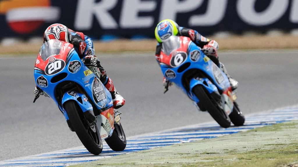 Fabio Quartararo,  Maria Herrera, Estrella Galicia 0,0, FIM CEV Repsol, Moto3 Jerez QP