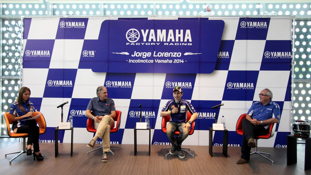 Jorge Lorenzo, Movistar Yamaha MotoGP - South America Tour